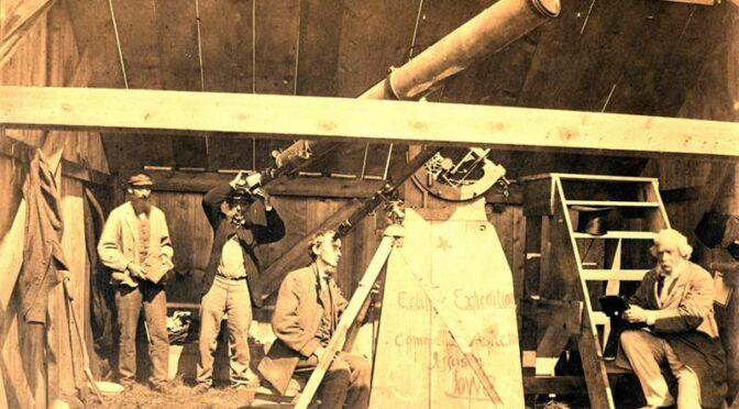 Sérendipité 1 : la photographie des astres et l'observatoire de Québec vers 1869